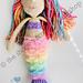 Mermaid Doll BAY pattern