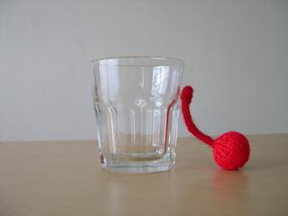 Knit Cherries - Maraschino