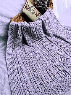 Enniskillen lap or baby blanket