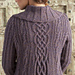 Cabled Cardigan pattern