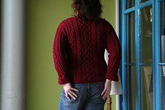 Big Cabled Sweater