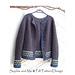Short Jacket with Round Yoke pattern