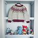 Uglegenseren / Owl sweater pattern