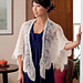 Warrior Wings Cinched-Edge Shawl pattern