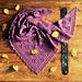 Mulberry Wine Shawl pattern