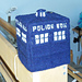 TARDIS tissue box cover pattern