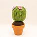 Amigurumi cactus pattern