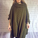 Olive Green Poncho pattern