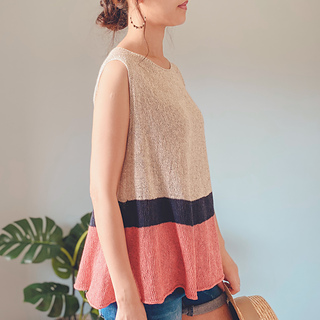 Umbel Summer Top pattern by Irene Lin