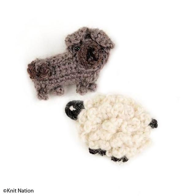Tiny Potato Pug amigurumi free crochet - Amigu World | 640x640