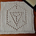 Ingress washcloth, knit pattern