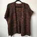 Decadent Poncho Cardigan pattern