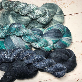 Yarns available from our August Autoship stores for this (see notes)