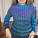 Leisurely Slip Stitch  Sweater KAL pattern