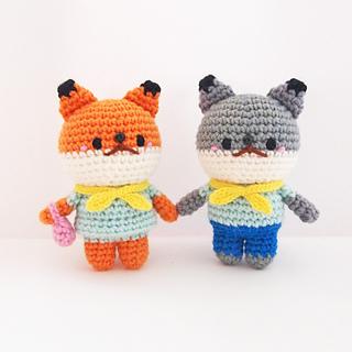 Crochet Fox amigurumi pattern by You've Been Yarned | Crochet fox ... | 320x320