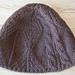 Fishtrap Aran Hat (January) pattern