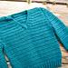 Simple Crochet V-Neck pattern