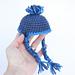 Ear Flap Hat for Dolls pattern