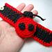Ladybug Cuff Bracelet pattern