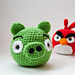 Angry Birds Pig pattern
