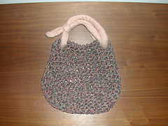 habu crocheted silk bag kit