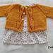 Baby Leaf Cardigan pattern