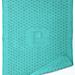Double Eyelet Monogram Baby Blanket pattern