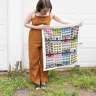 A baby-blanket make by @thehomesteady on Instagram.