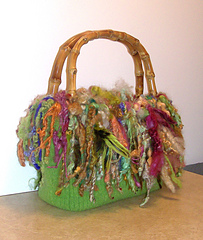Ozark feather and fan bag