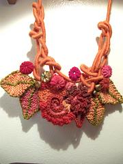 autumn fairy necklace