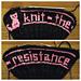 Knit the Resistance pattern