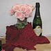 Rose City Ruched Scarf pattern