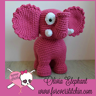 Ravelry: Esther the Elephant pattern by Jess Huff | 320x320