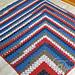 Mitered Modern Granny Afghan pattern