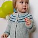 Glassbeads children cardigan pattern