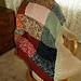 Remnant Scarf Blanket Afghan pattern