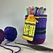 Crayon Mason Jar Cover pattern