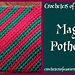 Magic Potholder pattern