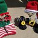Santa and Elf Helper Newborn Set pattern