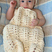 Wave Baby Cocoon pattern