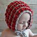 Puff Stitch Baby Bonnet pattern