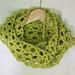Fishing Net Scarf pattern