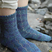 Zigzag Lace Socks pattern