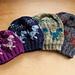 Dancing t-Rex hat pattern