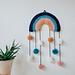Rainbow Pom Wall Hanging pattern