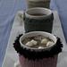 Coffee, Tea & Me Mug Cozies pattern