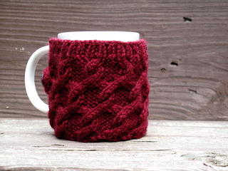 Ravelry: Tangled Cables Mug Sweater pattern by Jenni Hodges