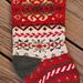 Snowdance Stocking pattern