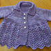 Lovely in Lace Baby Sweater pattern