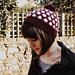 Polka Face Bobble Hat pattern
